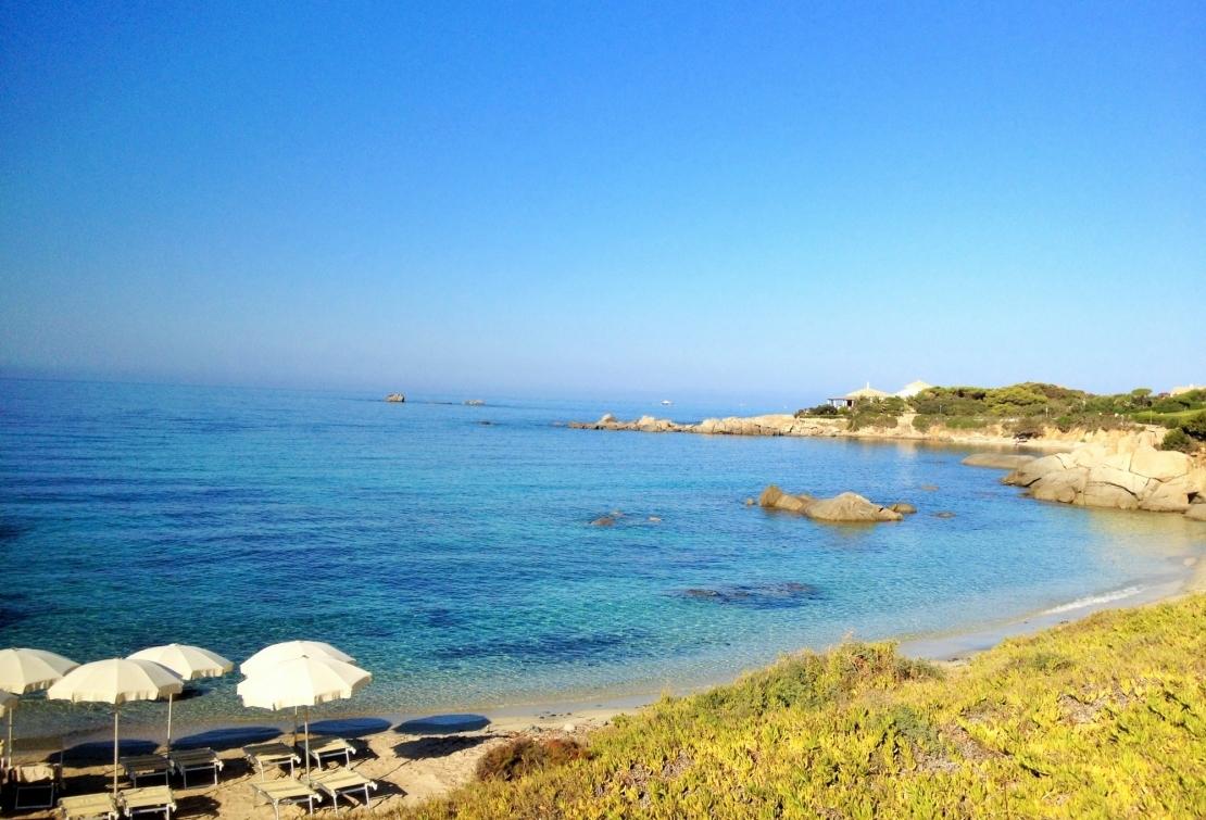 Spiaggia dell'hotel Cala Caterina